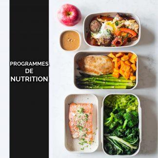 Programmes de Nutrition