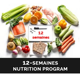 12-Semaines Nutrition Program