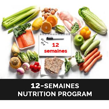 12-Semaines Nutrition Program